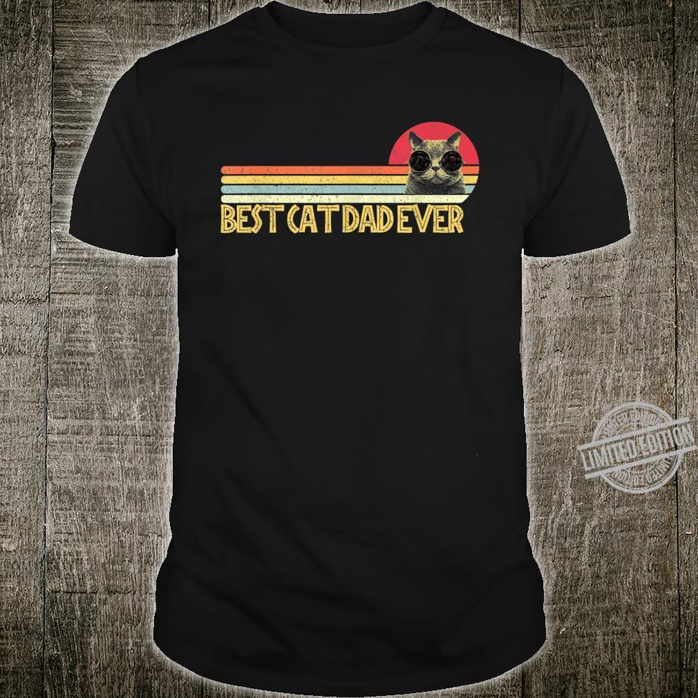 Best Cat Dad Ever Shirt Cats Cat Dad Fabulous Shirt