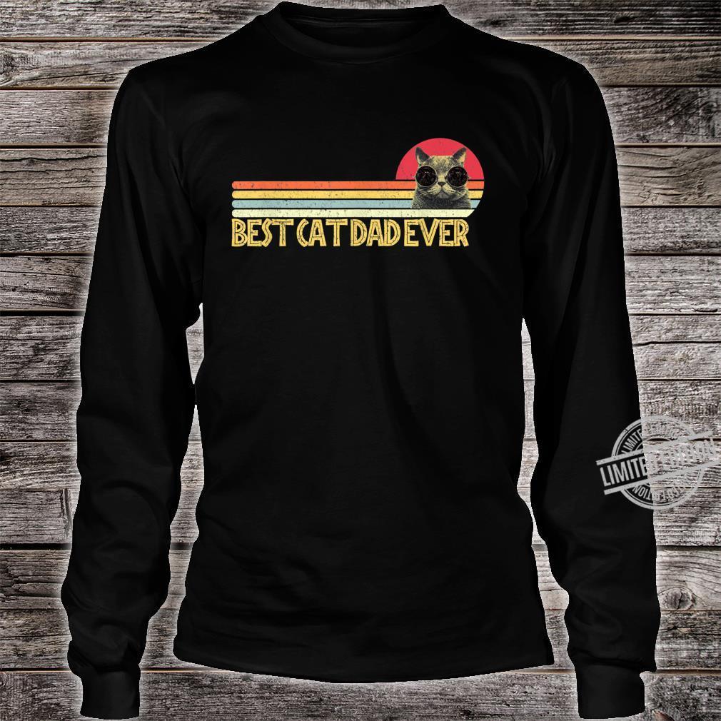 Best Cat Dad Ever Shirt Cats Cat Dad Fabulous Shirt long sleeved