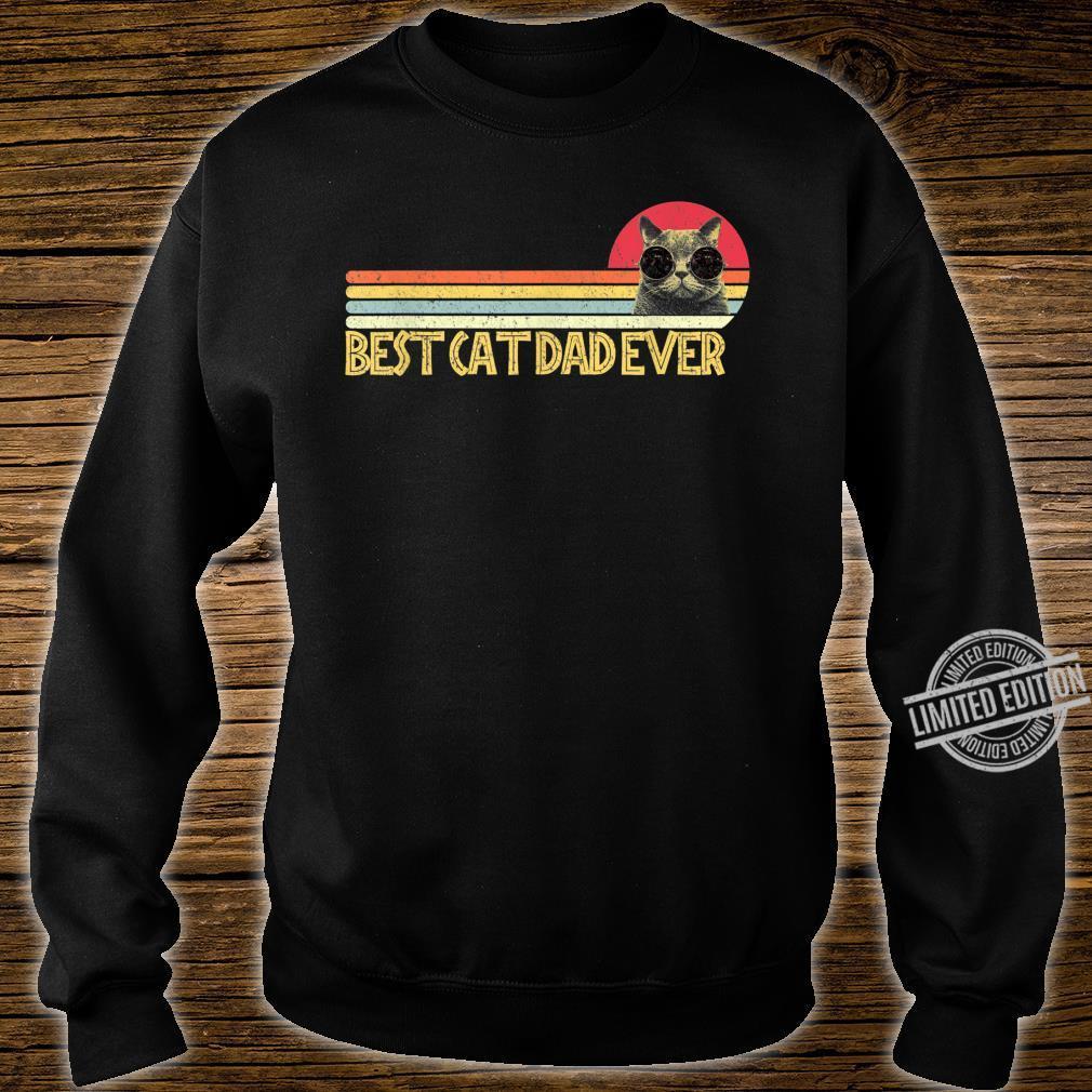 Best Cat Dad Ever Shirt Cats Cat Dad Fabulous Shirt sweater