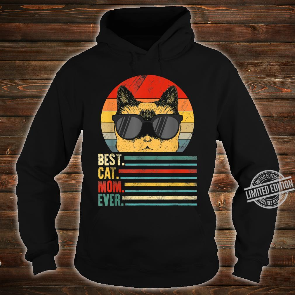 Best Cat Mom Ever Fist Bump Mothers day Vintage Shirt hoodie