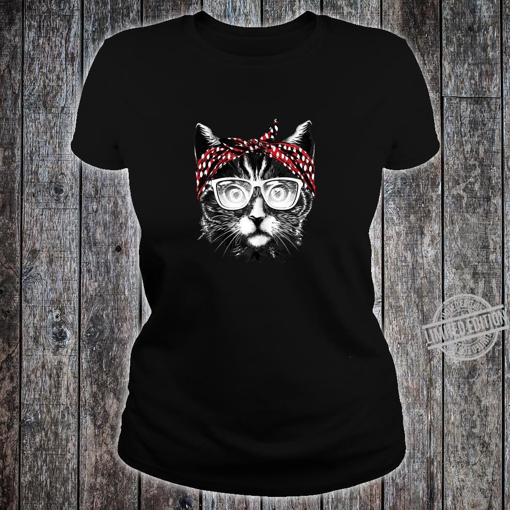 Best Cat Mom Ever Katzenmama Katzenmotiv Geschenk Damen Shirt ladies tee