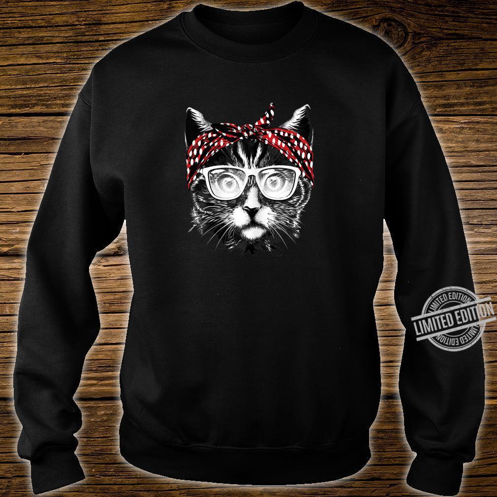 Best Cat Mom Ever Katzenmama Katzenmotiv Geschenk Damen Shirt sweater