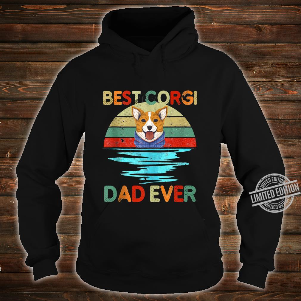 Best Corgi Dad Ever Daddy Dog Owner Shirt hoodie