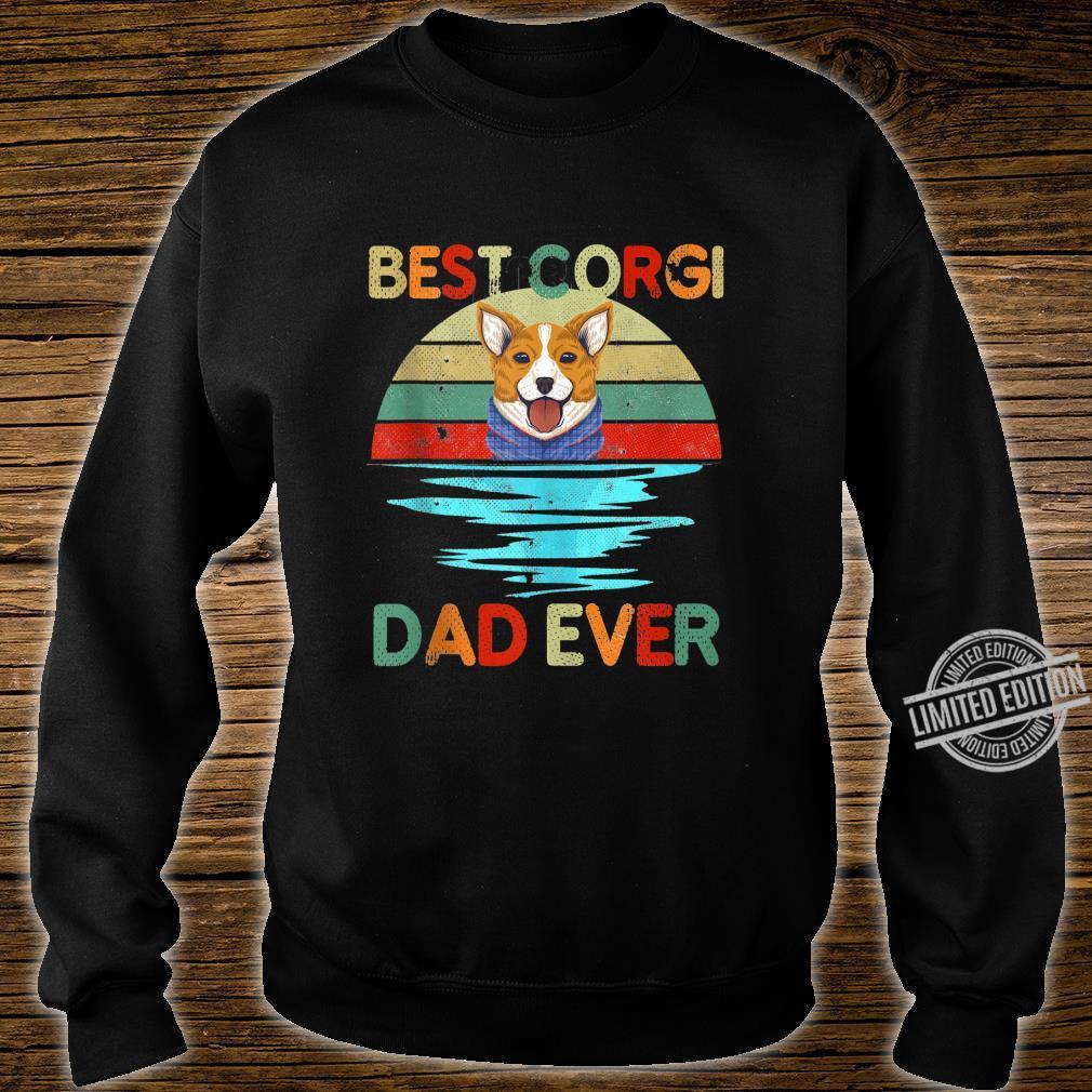 Best Corgi Dad Ever Daddy Dog Owner Shirt sweater