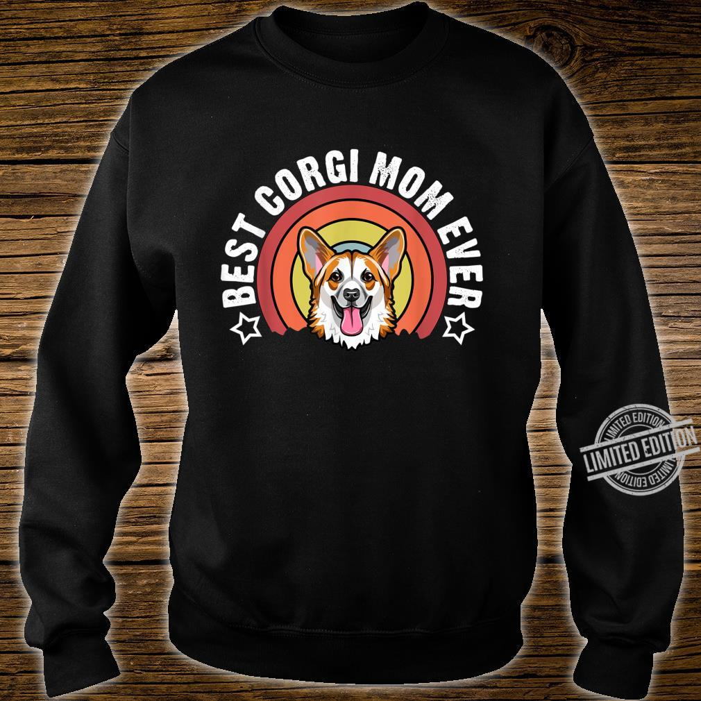 Best Corgi Mom Ever Dog Mommy Shirt sweater