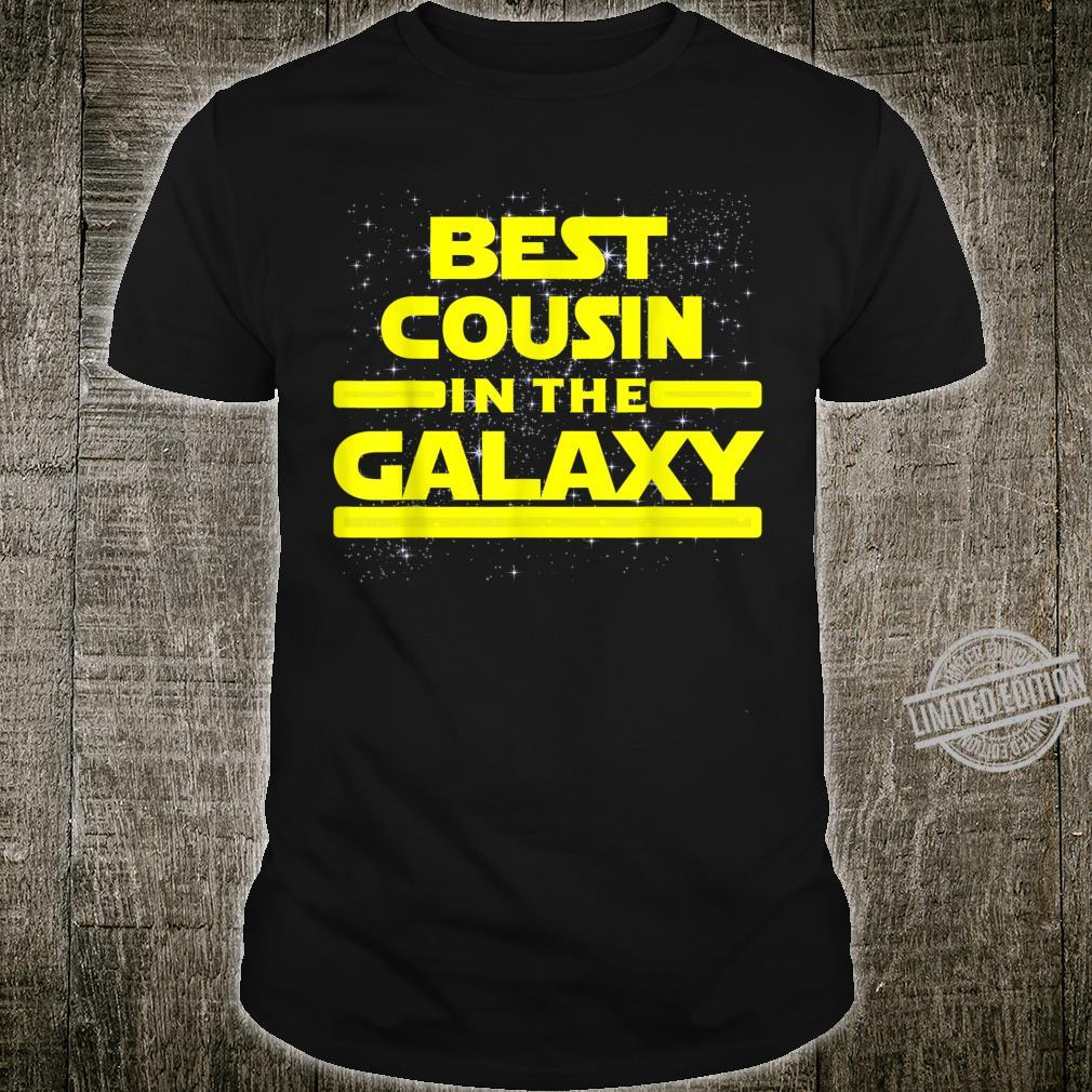 Best Cousin In The Galaxy Shirt for Cousin Star Shirt