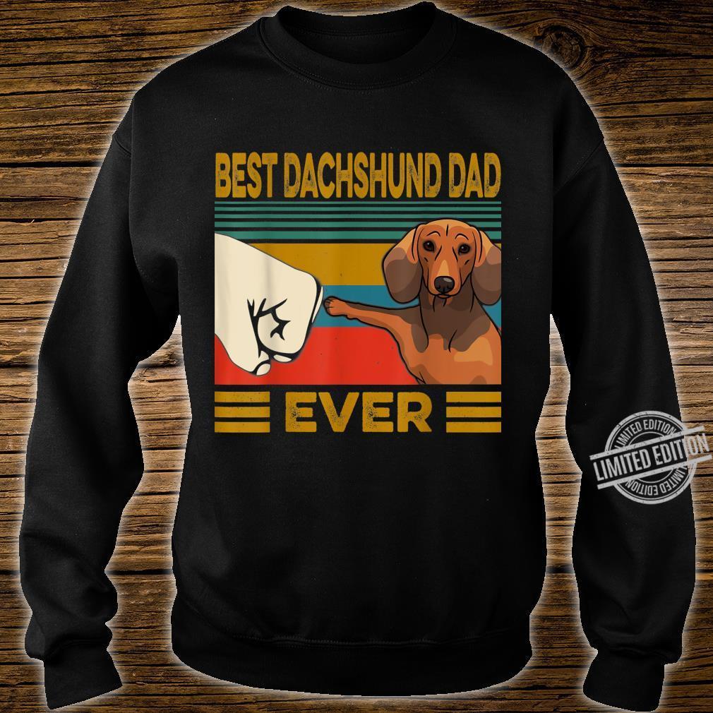 Best Dachshund Dad Ever Shirt sweater