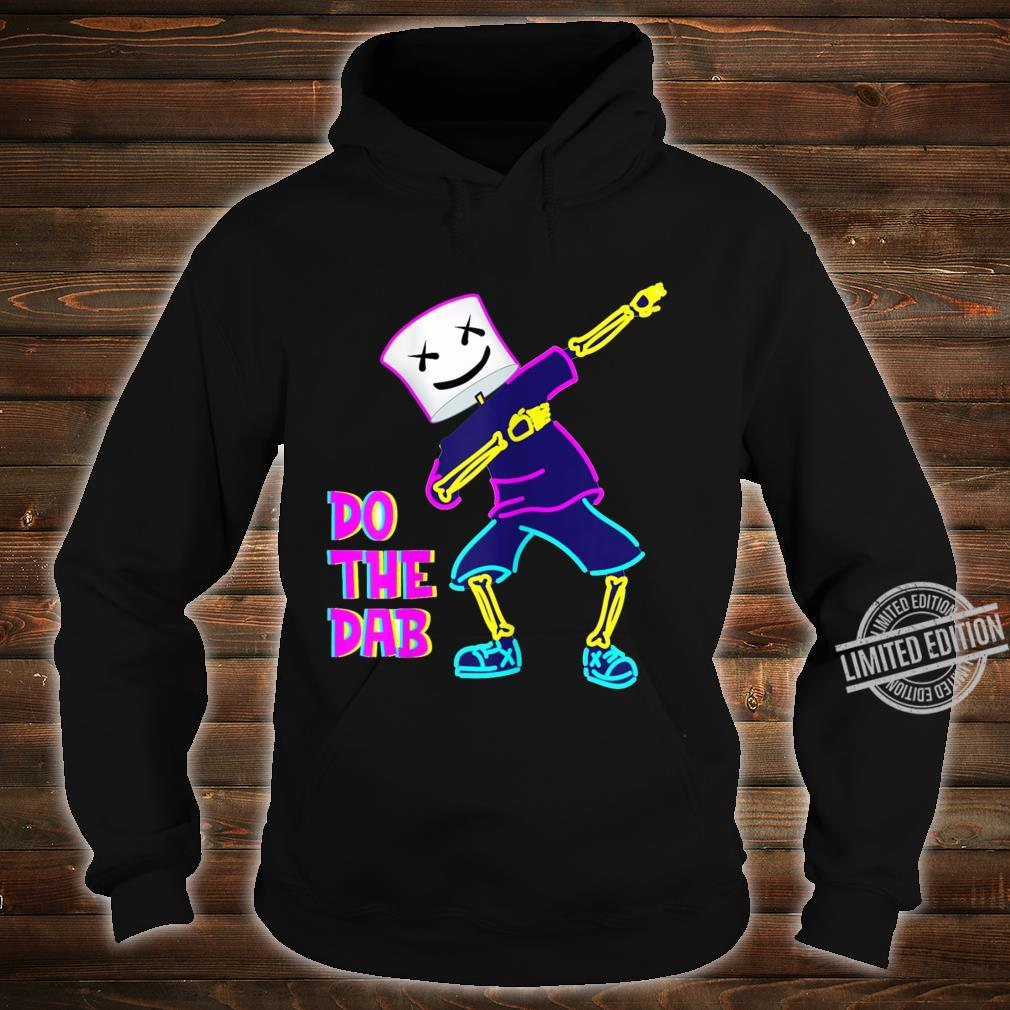 Best Dancing Dj With Goofy Marshmallow Face For Clubbing Shirt hoodie