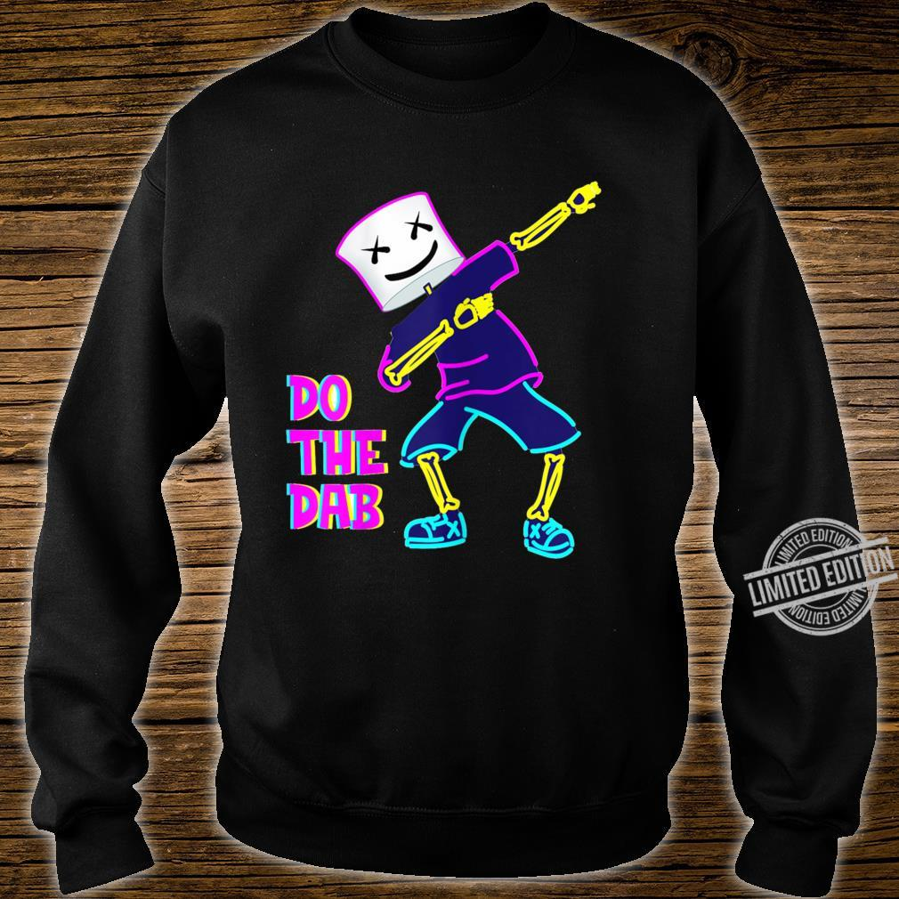 Best Dancing Dj With Goofy Marshmallow Face For Clubbing Shirt sweater