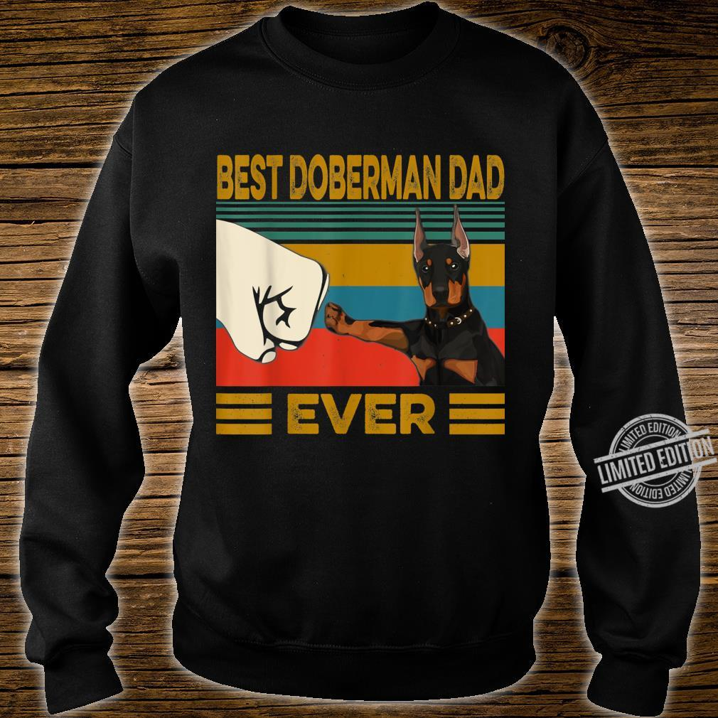 Best Doberman Dad Ever Shirt sweater