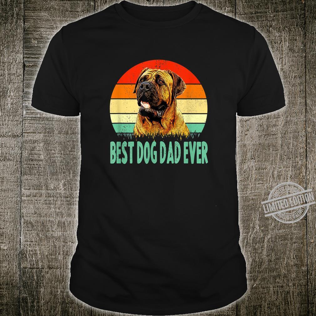 Best Dog Dad Ever Dogue de Bordeaux Shirt