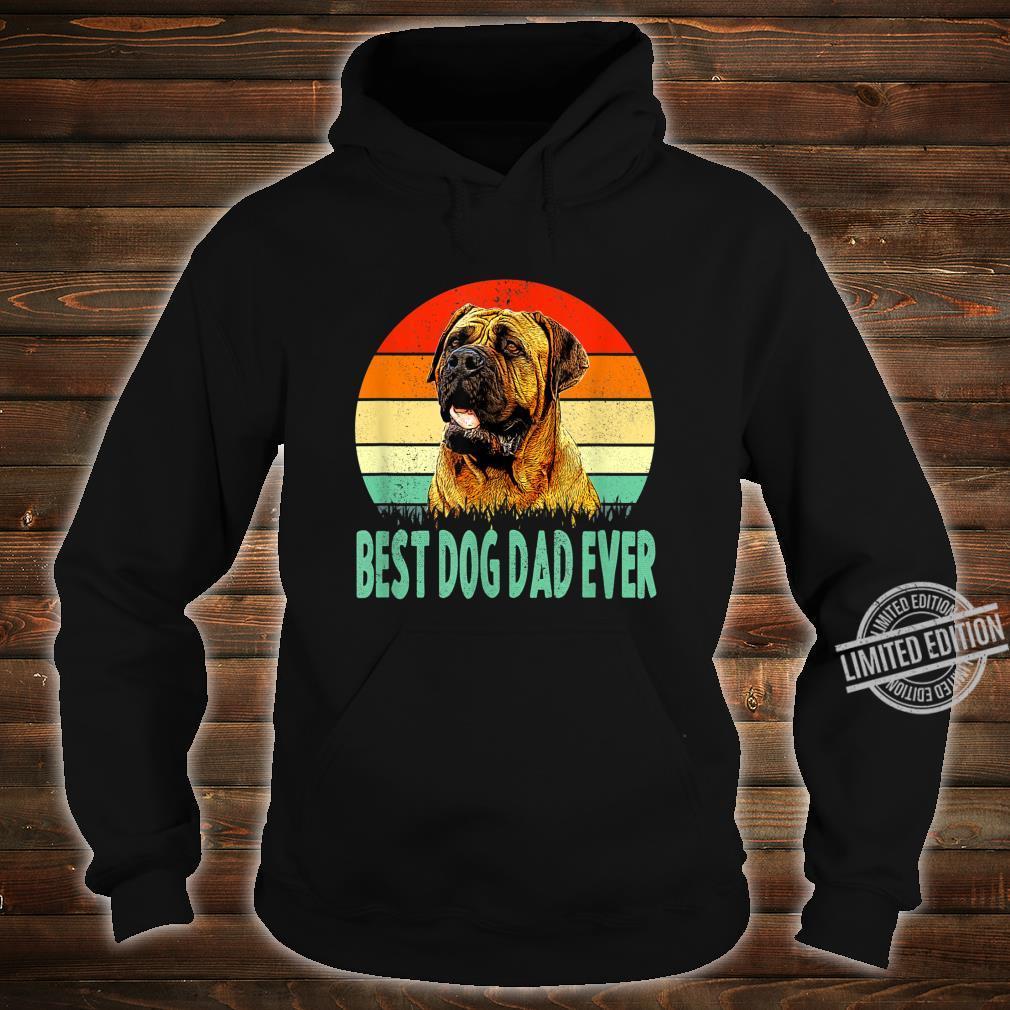Best Dog Dad Ever Dogue de Bordeaux Shirt hoodie