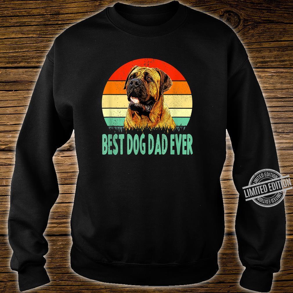 Best Dog Dad Ever Dogue de Bordeaux Shirt sweater