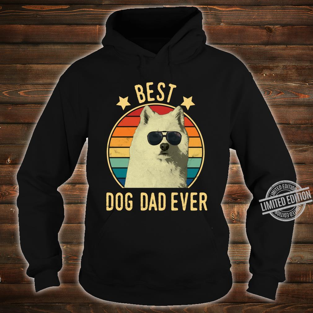 Best Dog Dad Ever Samoyed Father's Day Shirt hoodie