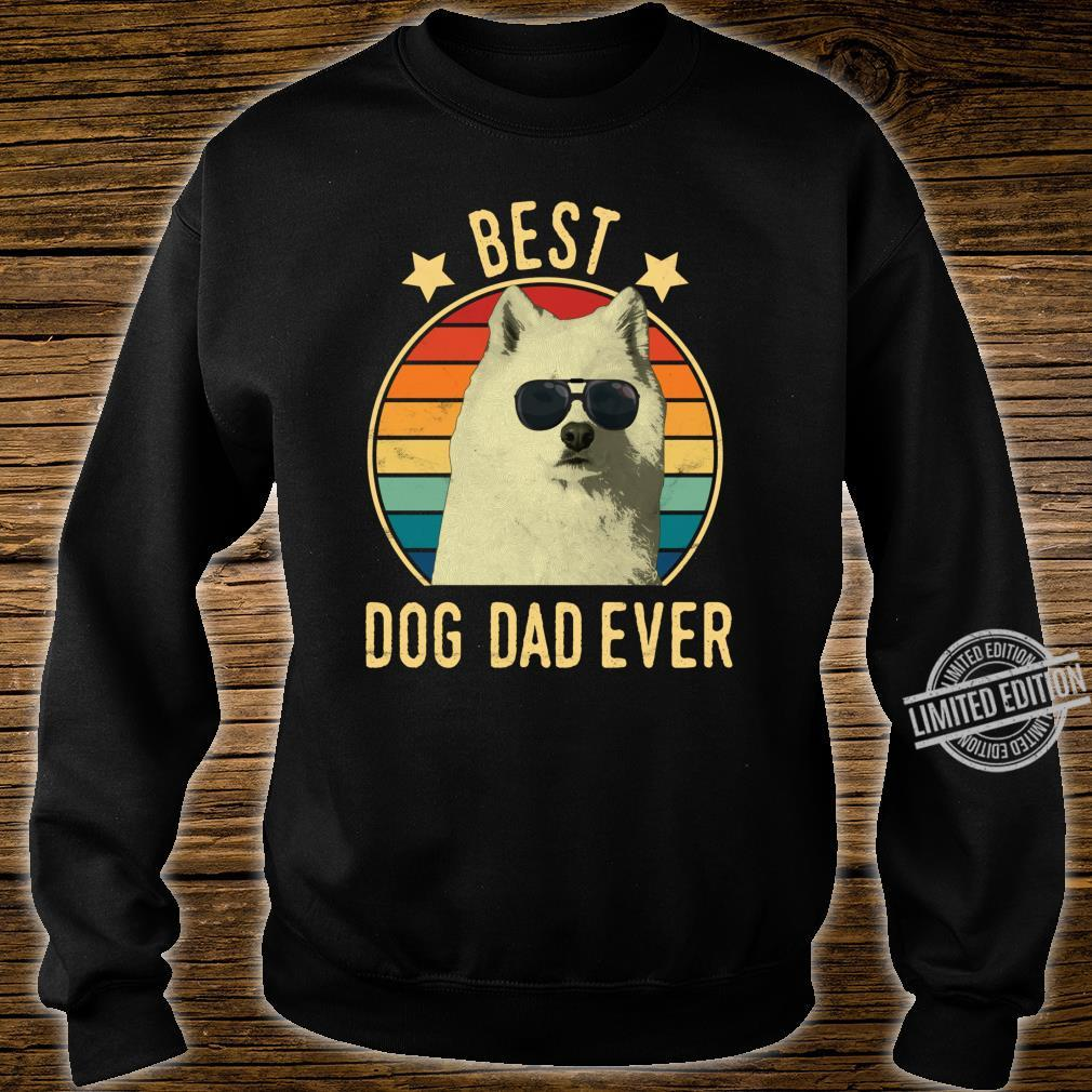 Best Dog Dad Ever Samoyed Father's Day Shirt sweater