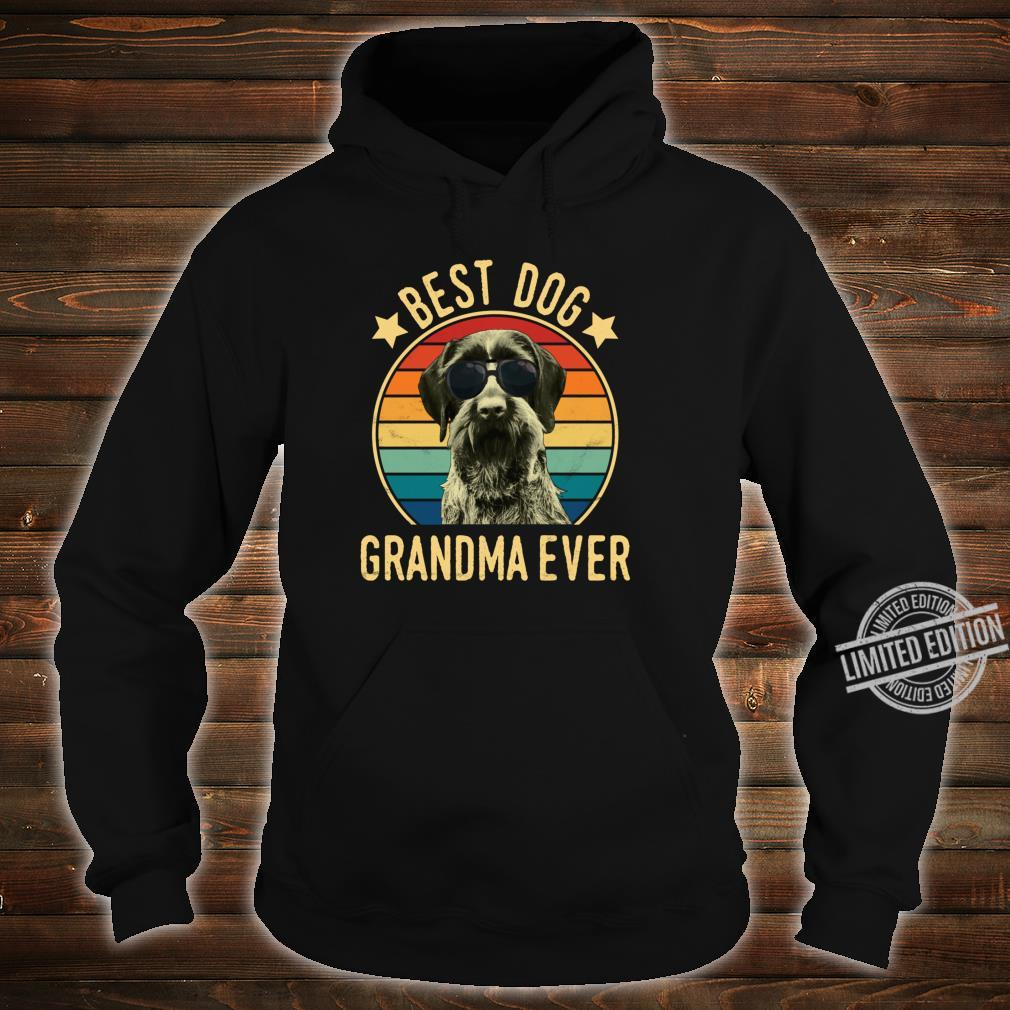 Best Dog Grandma Ever German Wirehaired Pointer Mother's Day Shirt hoodie