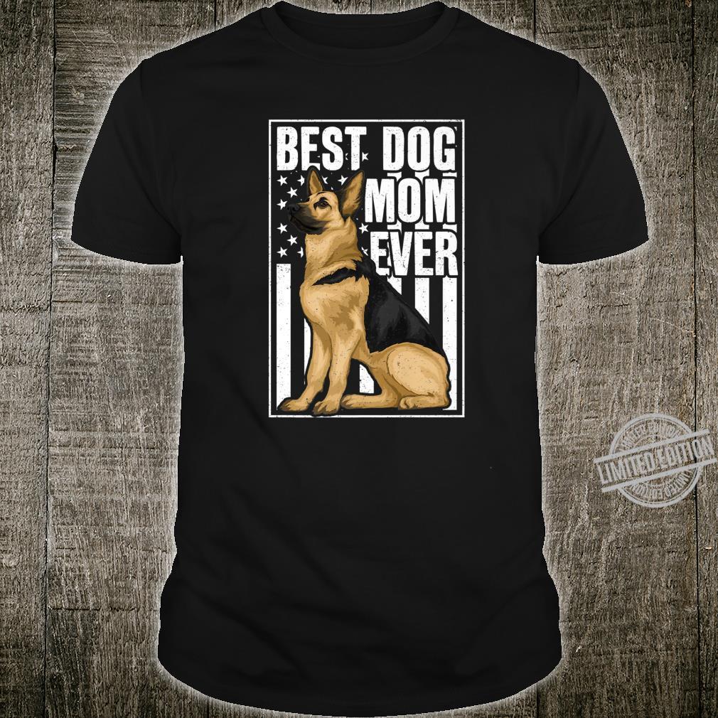 Best Dog Mom Ever German Shepherd Shirt