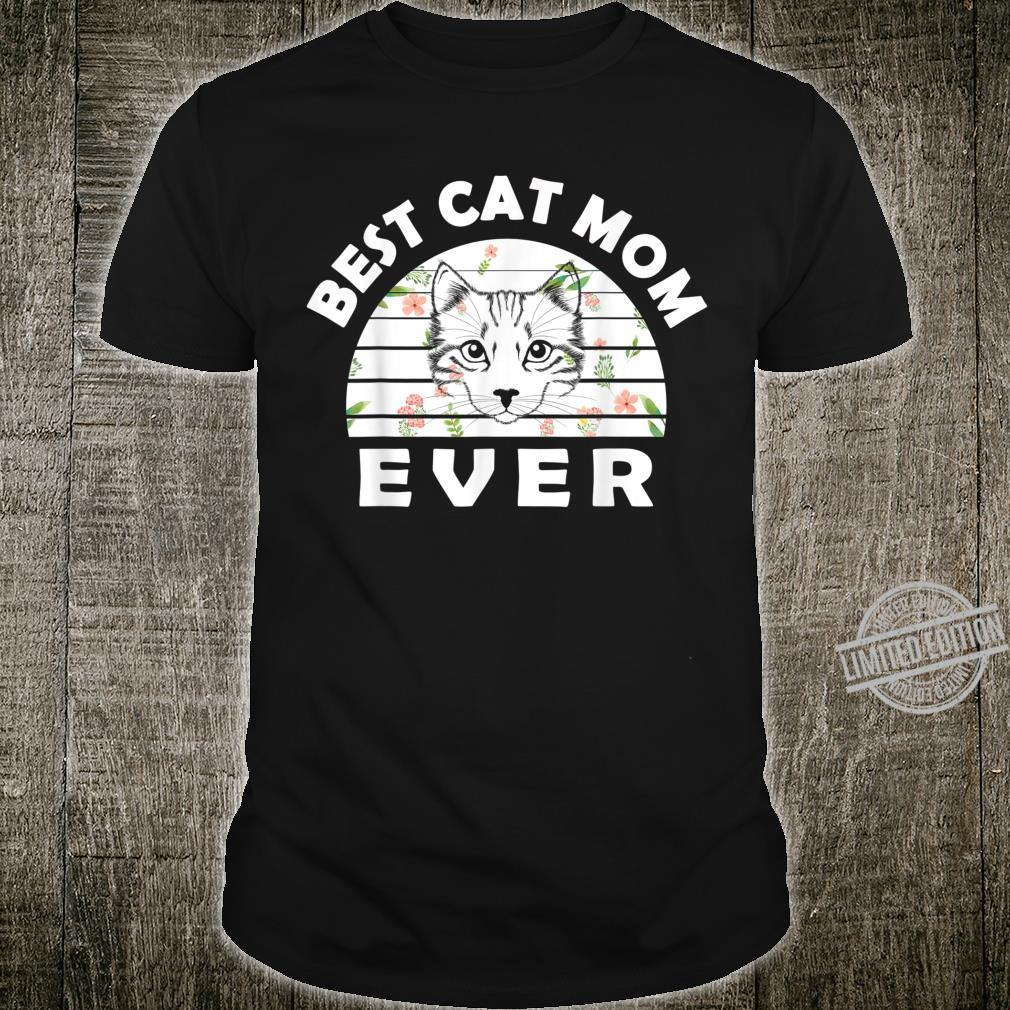 Best cat mom ever awesome cat Shirt