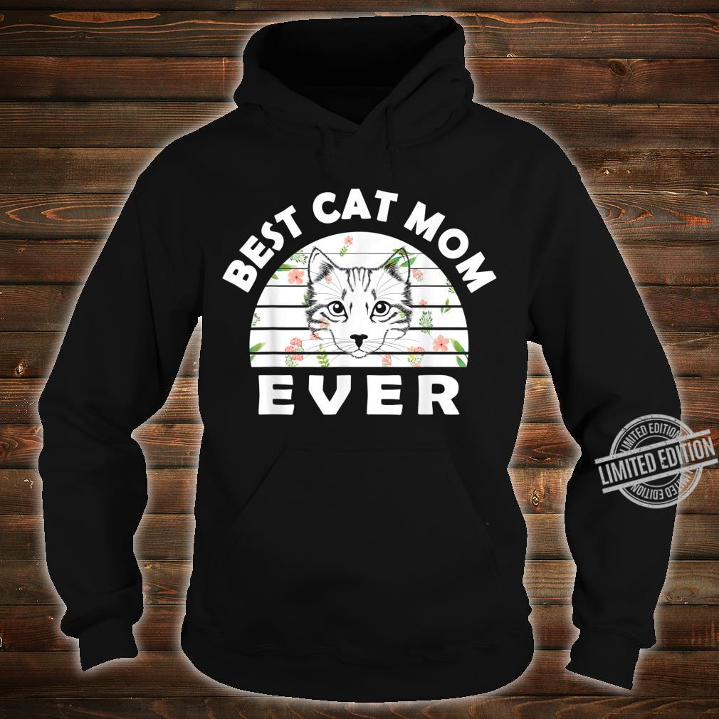 Best cat mom ever awesome cat Shirt hoodie