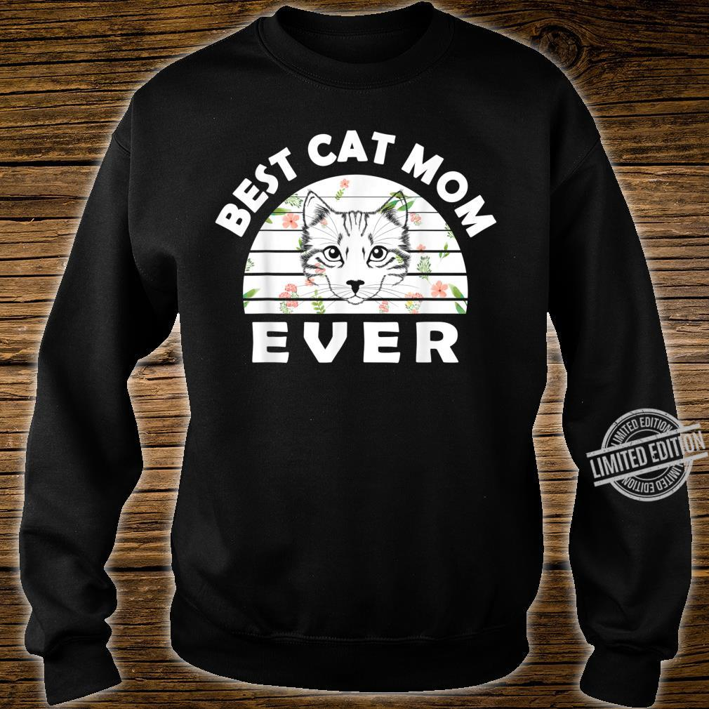 Best cat mom ever awesome cat Shirt sweater