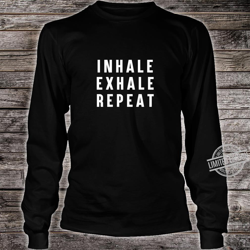 Inhale Exhale Repeat Yoga Pullover Hoodie